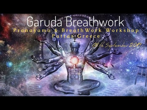 Garuda - Pranayama & BreathWork Workshop Patras Greece 2019