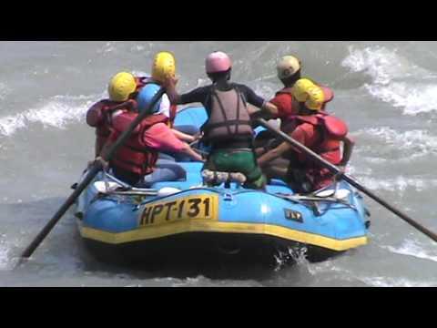 River Rafting in India Part 4 | River Rafting in Himalayas | Dangerous River Rafting