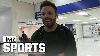 Joel McHale  Boycott Thursday Night Football? No Way | TMZ Sports