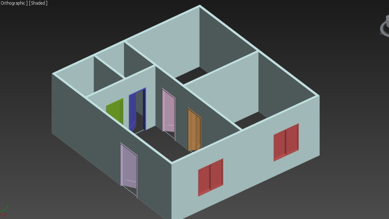 3ds max wall modeling tutorial for beginners 3d floor plan basics