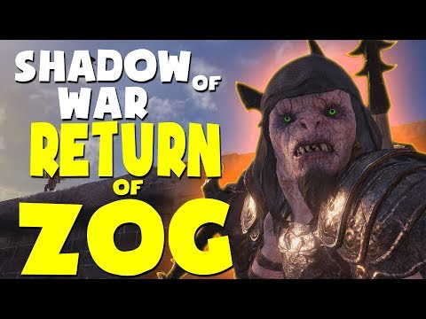 Middle Earth: Shadow of War Funny Moments - RETURN OF ZOG