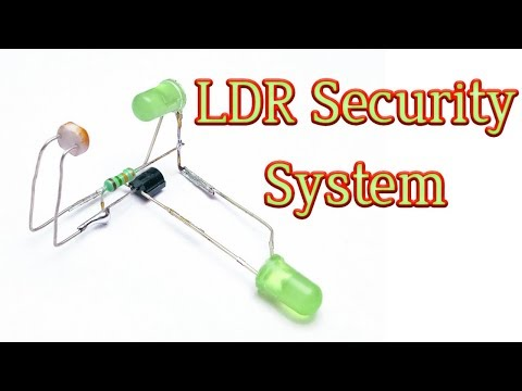 LDR Security System || BC547 || By Es Tech Knowledge