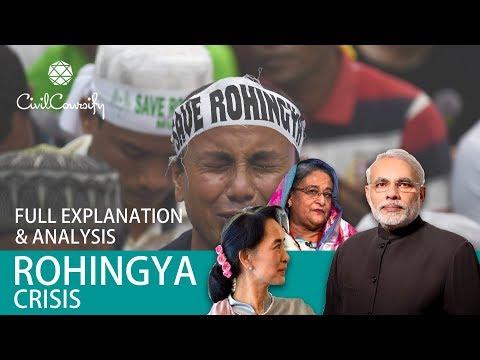ROHINGYA Crisis | Full Explanation & Analysis | India-Myanmar-Bangladesh Relations | Must Watch