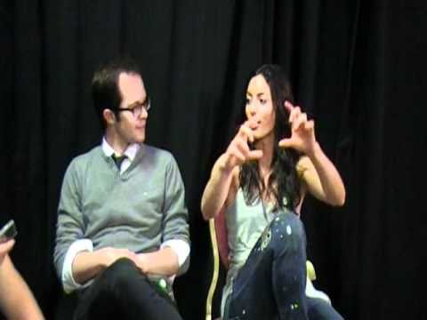 Neil Grayston and Erica Cerra of Eureka  with