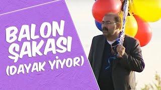 Şakacı Mustafa Karadeniz  - Balon Şakası (Dayak Yiyor)