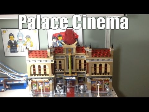 Combining Two Lego Modular Buildings - Palace Cinema Expanded – 10232