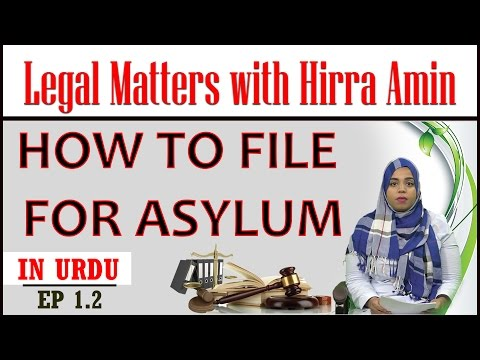 EP 1.2 - How to File Asylum in USA - Legal Matters with Hirra Amin