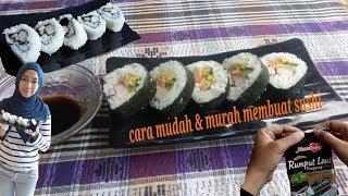 cara mudah dan murah membuat sushi