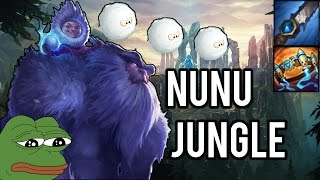 YETI OP - Nunu Jungle A-Z - League of Legends PL