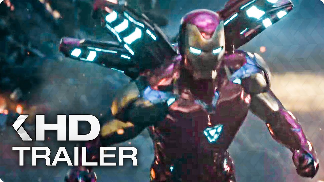 Avengers 4 Endgame To The End Trailer 2019