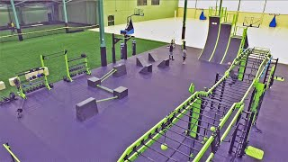 Fitness & Sports Club Transformation Gym Design With MoveStrong Functional Fitness Equipment