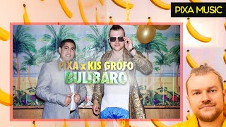 Download PIXA feat. Kis Grófo - BULIBÁRÓ (Official Music ) MP3 song and Music Video
