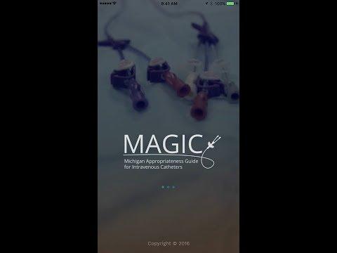 Michigan MAGIC App Intro