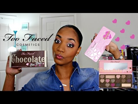 ❤ REVIEW & SWATCHES ❤ *NEW* Too Faced Chocolate Bon Bons Eyeshadow Palette