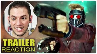 GUARDIANS OF THE GALAXY 2 Trailer Reaction + Review German Deutsch | Filme 2017