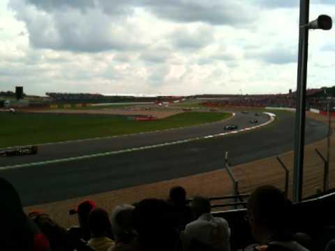 British F1 Grand Prix 2011, Silverstone, Start from Club Corner