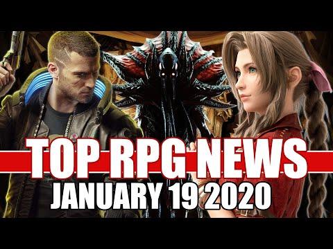 Top RPG News Of The Week - Jan 19, 2020 (Cyberpunk 2077, Final Fantasy 7 Remake, Baldur's Gate 3)
