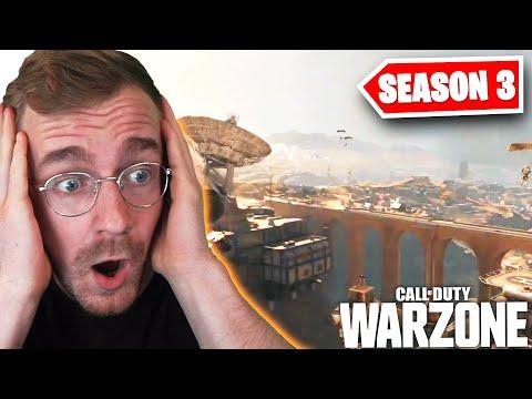 Warzone: SEASON 3 (Neue Map - Verdansk1980, LIVE EVENT Part 2, Battlepass und mehr)