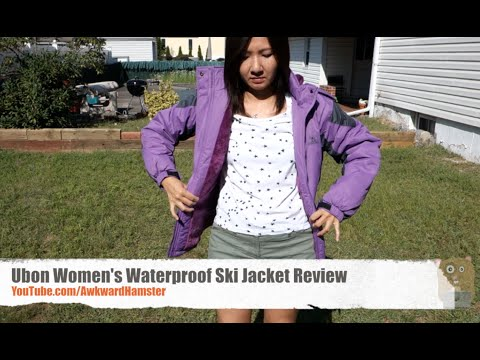c2cbc06e1 Ubon Women's Waterproof Ski Jacket Review