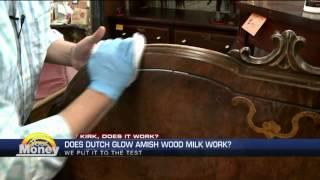Kirk Does It Work   The Dutch Glow Amish Wood Milk