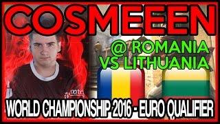COSMEEEN @ Romania vs Lithuania - World Championship 2016 European Qualifier