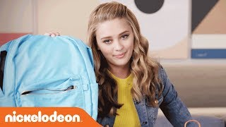 Back to School: What's in My Backpack ft. Lizzy Greene | Nicky, Ricky, Dicky & Dawn | Nick
