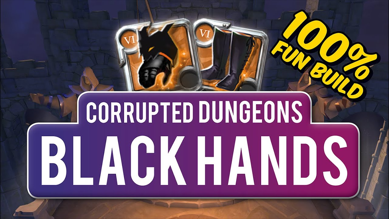 Black Hands   Corrupted Dungeons   Solo PvP   Albion Online