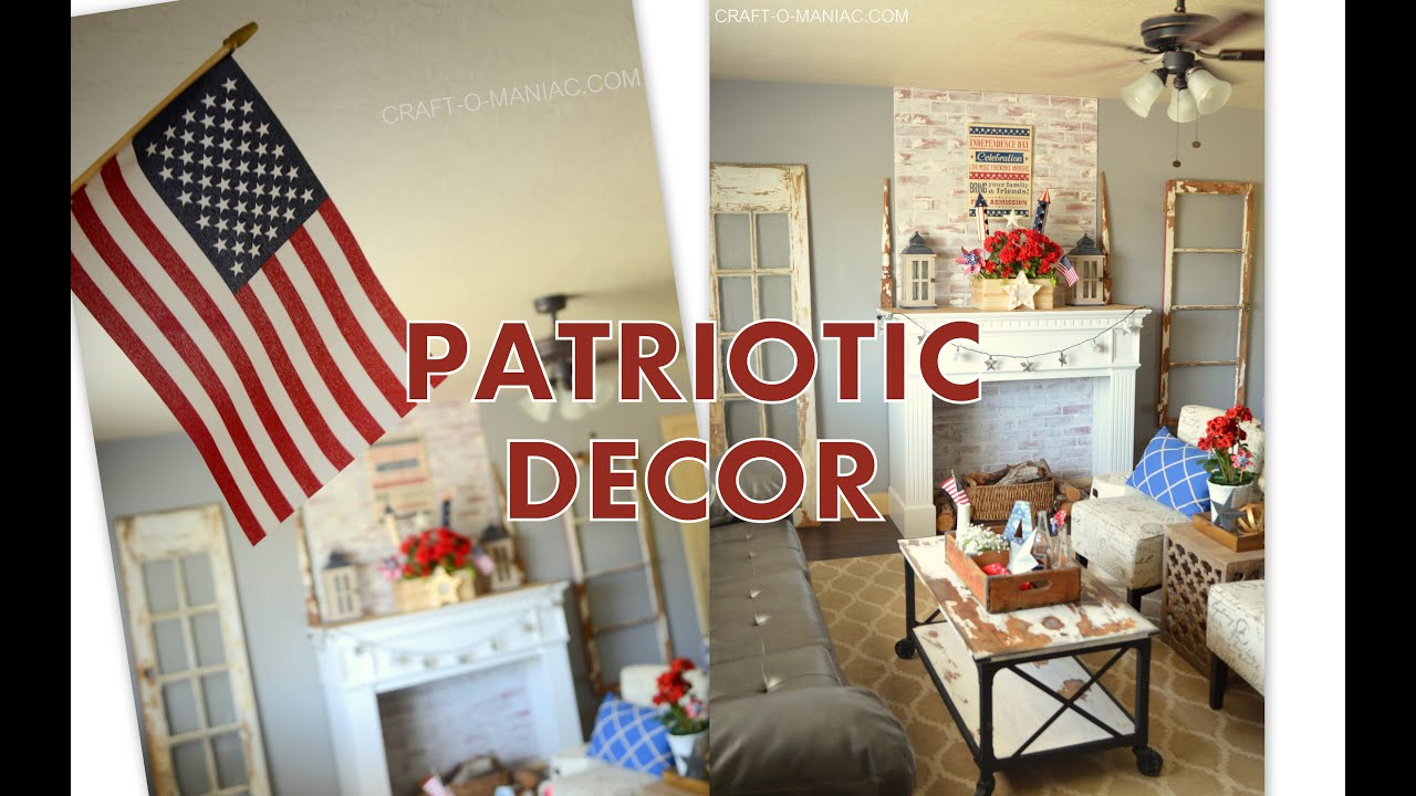 Marvelous Home Decor | Patriotic 4th Of July Style