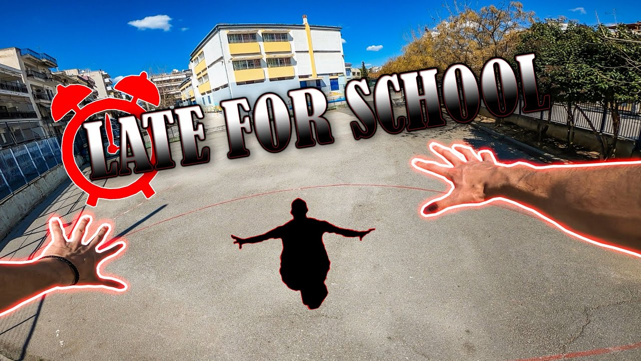 Download DK IS LATE FOR SCHOOL   PARKOUR POV
