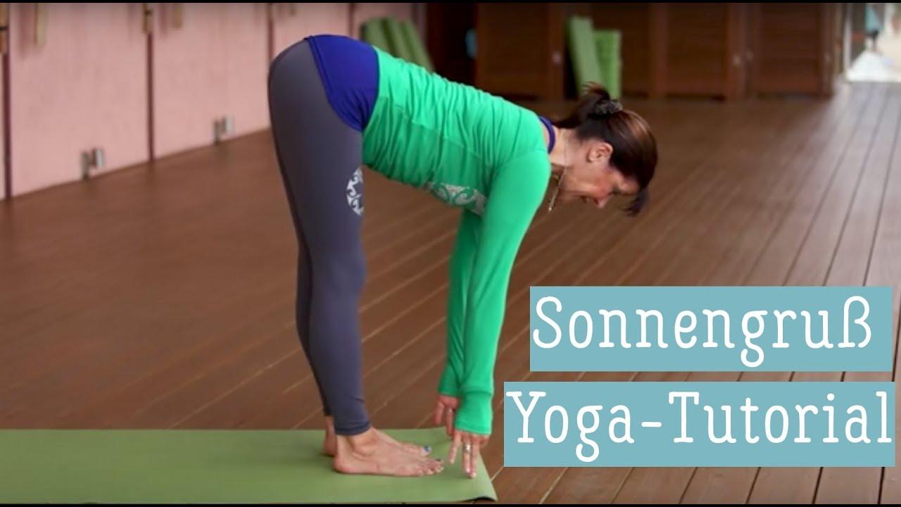 Tutorial Sonnengruss A Asana Yoga Ubung Hatha Yoga Youtube