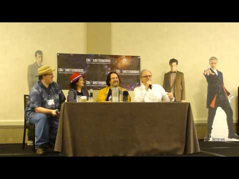 Con Kasterborous 2017 - Earth Station Who podcast - Peter Davison Panel - Part 1 of 2