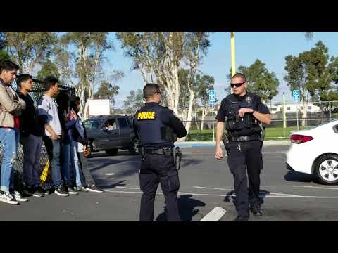 1A-Turned-Cop Watch - San Diego Harbor Cesar E. Chavez Park w/ F/Off Productions