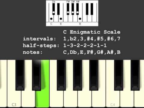 Enigmatic Musical Scale