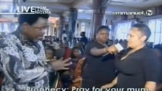 SCOAN 26/04/15: Prophecy Time, Words Of Wisdom Prayer & Deliverance With TB Joshua. Emmanuel TV