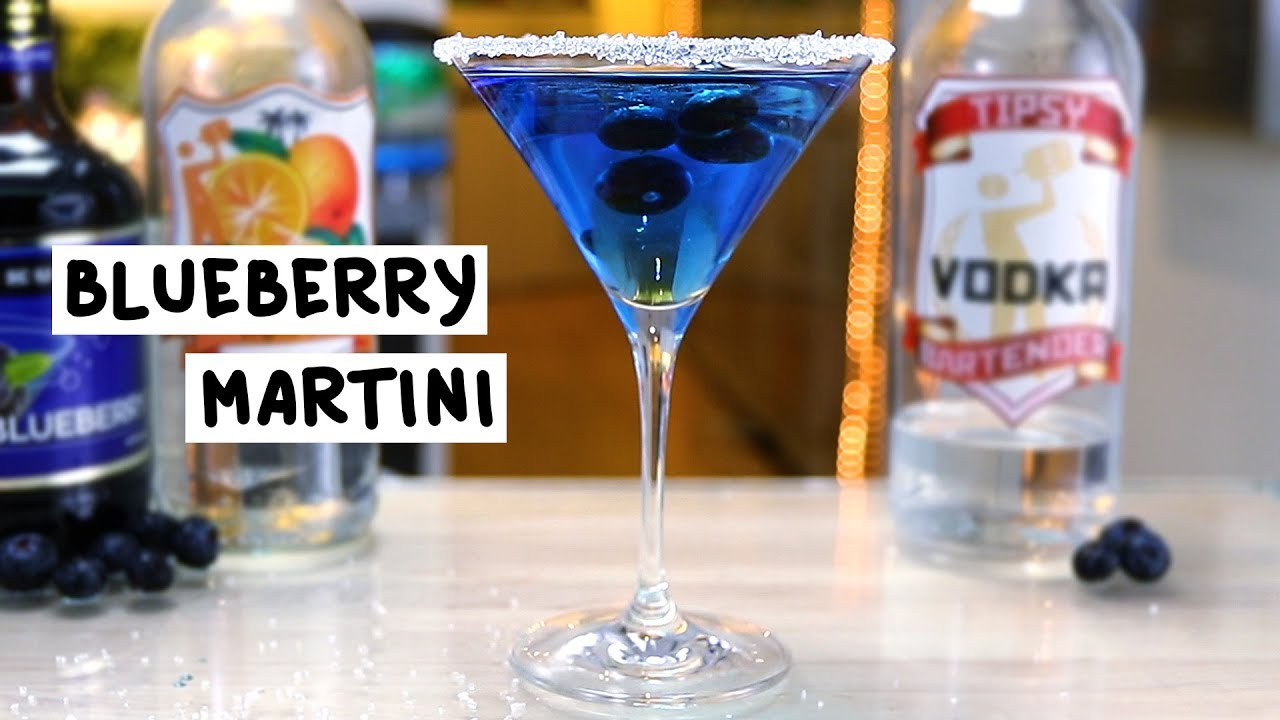 blueberry-martini