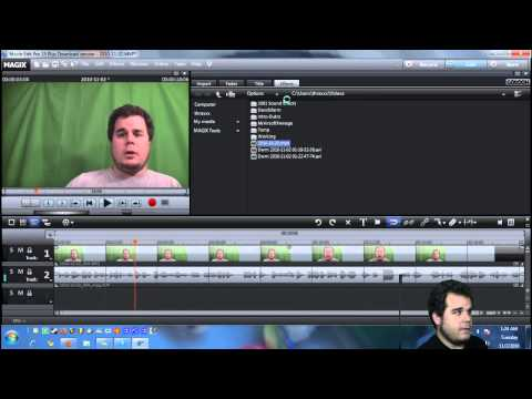 Magix Movie Edit Pro Tutorial - Voice Over and Voice Altering