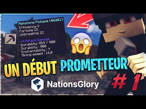 🌍 UN DÉBUT PROMETTEUR ! - NationsGlory | Episode 1
