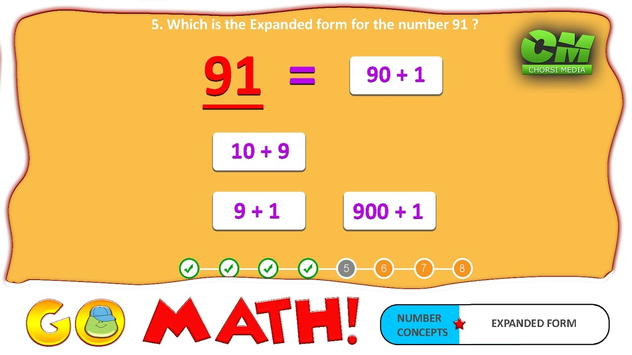 medium resolution of Go Math ! 2 Digit Expanded Form - YouTube