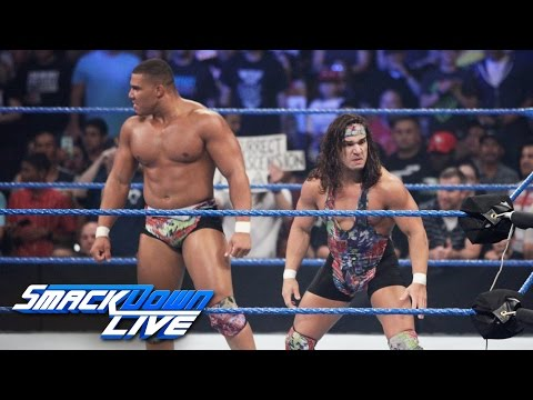 American Alpha vs. local competitors: SmackDown Live, Aug. 9, 2016