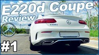 벤츠 e클래스 쿠페 e220d 시승기 1편 ♥ 음음음.. ☞ Mercedes-Benz E class Coupe Review 오토소닉스 차분한 자동차 리뷰 #71 ♥