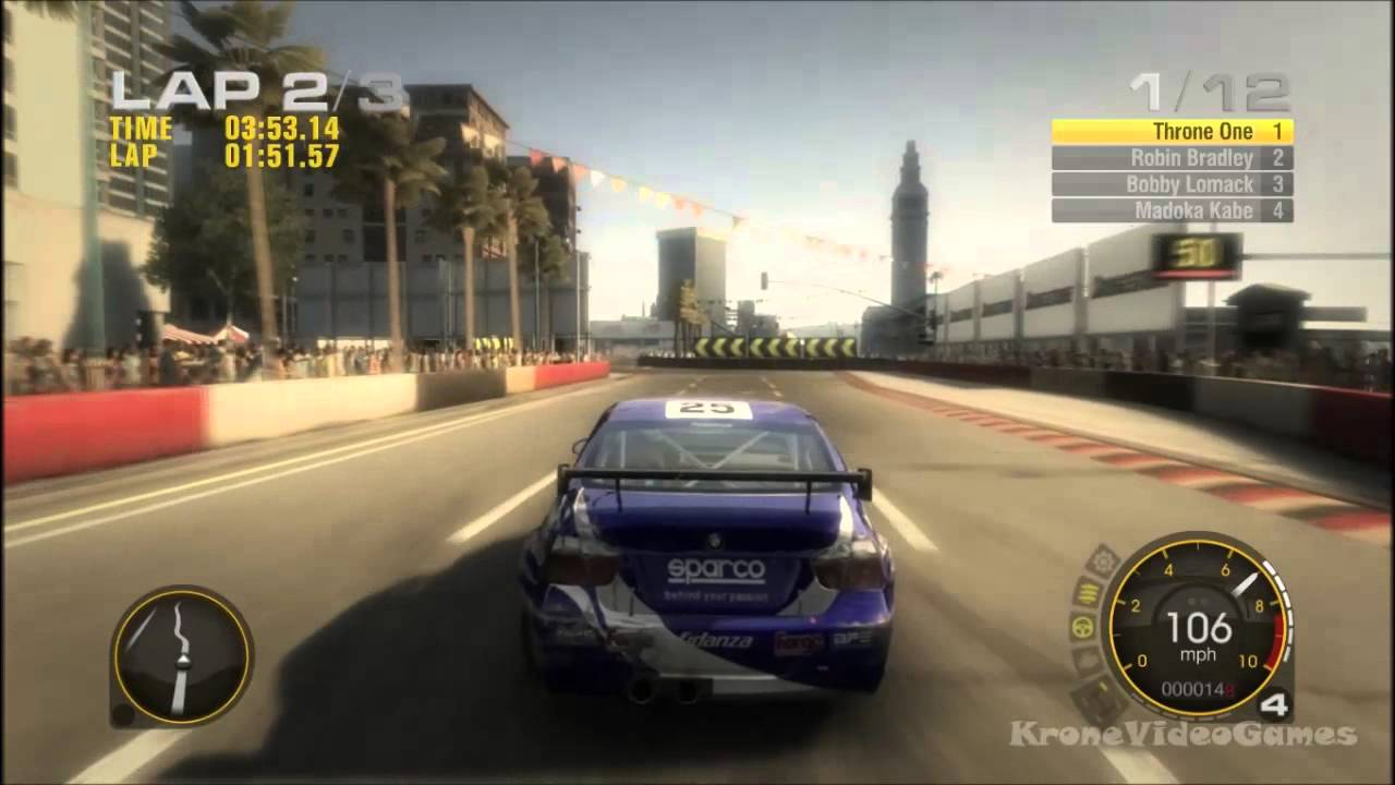 race driver grid gameplay pc hd youtube