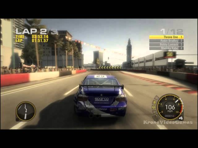 Race Driver: GRID Gameplay PC HD