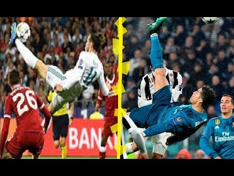Ronaldo Vs Bale Bicycle Kick Goal Which One Is The Best Youtube