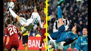 Video RONALDO VS BALE - BICYCLE KICK GOAL - Which One Is The BEST ? download MP3, 3GP, MP4, WEBM, AVI, FLV Agustus 2018