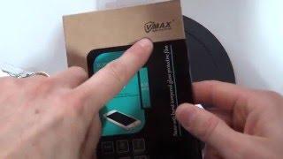 Come applicare pellicola in vetro VMAX su Galaxy S7 edge