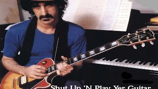 "Frank Zappa "" eat that question - black napkins - what"