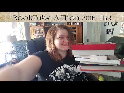 BookTube-a-Thon 2016 TBR