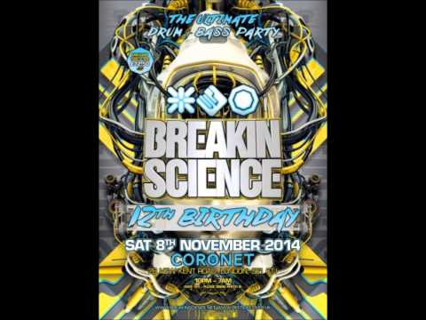 Logan D & DJ Sly - MC Bassman, Evil B, Eksman & Herbzie. Breakin Science 12th Birthday 2014