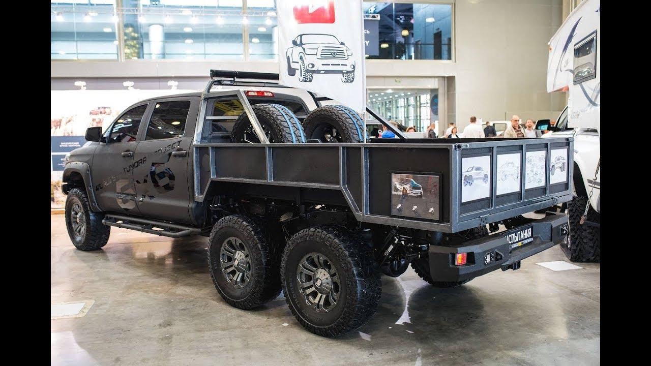 Toyota Tundra 6x6 & Wild Truck Camper - YouTube