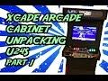 building Xcade U24S DIY arcade machine cabinet PART 1